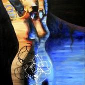 Ewa, 80x60 cm, akryl na płótnie, 2014 r. NIEDOSTĘPNY