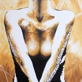 Shame, 100x70 cm, akryl na płótnie, 2014 r. NIEDOSTĘPNY