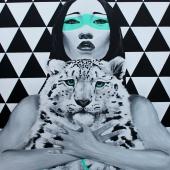 Więzi, 130x100 cm, akryl na płótnie, 2016 r. NIEDOSTĘPNY