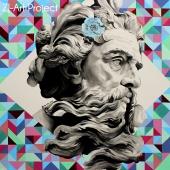 """Rezolutny Zeus, cykl: """"Perypetie XXI wieku"""", 100x100, akryl na płótnie, 2017 r. NIEDOSTĘPNY"""