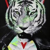 Samiec alfa, 90x60 cm, akryl na płótnie, 2016 r. NIEDOSTĘPNY