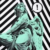 """Szukajcie, cykl: """"Perypetie XXI wieku"""", 60x60 cm, akryl na płótnie, 2018 r. NIEDOSTĘPNY"""