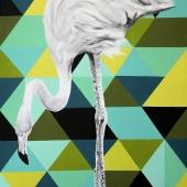 Uszanowanko, 90x60 cm, akryl na płótnie, 2016 r. NIEDOSTĘPNY