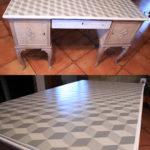 Blat biurka, wykonany dla Dwie Baby, NIEDOSTĘPNY
